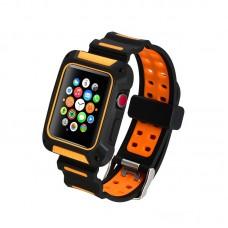 Ремешок-чехол Coteetci W31 Orange 42mm для Apple Watch