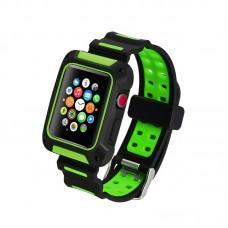 Ремешок-чехол Coteetci W31 Green 42mm для Apple Watch
