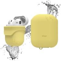 Чехол силиконовый Elago Silicone Waterproof Case желтый для Apple Airpods