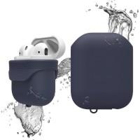 Чехол силиконовый Elago Silicone Waterproof Case синий для Apple Airpods