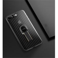 Чехол силиконовый X-Level Suitcase Series Case Cover Black для iPhone 7 Plus/8 Plus