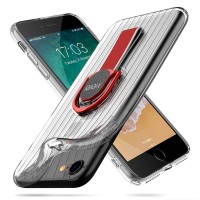 Чехол силиконовый X-Level Suitcase Series Case Cover Red для iPhone 7/8