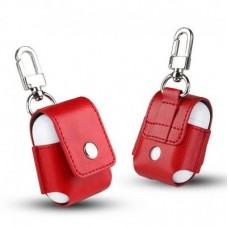 Чехол Leather Case Red для Apple Airpods