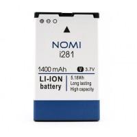 Аккумуляторная Батарея АКБ ААА NB-281 1400 mAh Li-Ion для Nomi i281