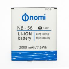 Аккумуляторная Батарея АКБ ААА NB-56 2000 mAh Li-Ion для Nomi i503