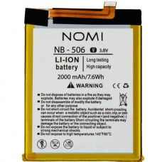 Аккумуляторная Батарея АКБ ААА NB-506 2000 mAh Li-Ion для Nomi i506