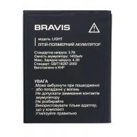 Аккумуляторная Батарея АКБ ААА Bravis Light 1400 mAh Li-Ion для Bravis Light