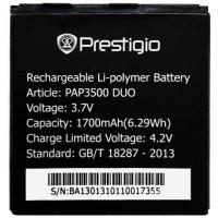 Аккумуляторная Батарея АКБ ААА PAP3500 1400 mAh Li-Ion для Prestigio MULTIPHONE 3500 DUO