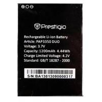 Аккумуляторная Батарея АКБ ААА PAP3350 1500 mAh Li-Ion для Prestigio MULTIPHONE 3350 DUO