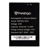 Аккумуляторная Батарея АКБ ААА PAP5503 4000 mAh Li-Ion для Prestigio MULTIPHONE 5503 DUO