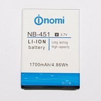 Аккумуляторная Батарея АКБ ААА NB-451 1700 mAh Li-Ion для Nomi i451