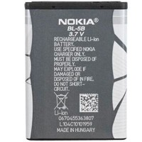 Аккумуляторная Батарея АКБ АА BL-5B 890 mAh Li-Ion для Nokia 3220/3230/5070/5140/5140i/5200/ 5300/5320/5500/6020