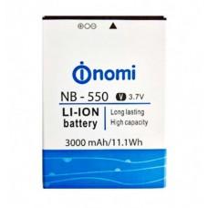 Аккумуляторная Батарея АКБ ААА NB-550 3000 mAh Li-Ion для Nomi i550