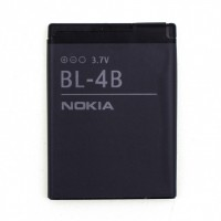 Аккумуляторная Батарея АКБ АА BL-4B 700 mAh Li-Ion для Nokia 2630/2660 /2760/5000/6111/6125 /7070/7360/7370/7373