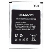 Аккумуляторная Батарея АКБ ААА Bravis Nova 1700 mAh Li-Ion для Bravis Nova