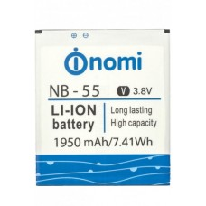 Аккумуляторная Батарея АКБ ААА NB-55 1950 mAh Li-Ion для Nomi i505