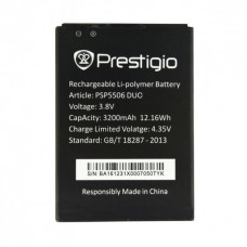 Аккумуляторная Батарея АКБ ААА PSP5506 3200 mAh Li-Ion для Prestigio MULTIPHONE 5506 DUO