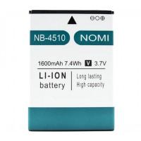 Аккумуляторная Батарея АКБ ААА NB-4510 1600 mAh Li-Ion для Nomi i4510