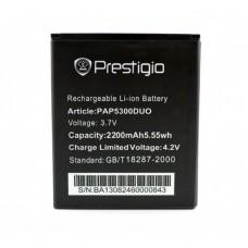 Аккумуляторная Батарея АКБ ААА PAP5300 2200 mAh Li-Ion для Prestigio MULTIPHONE 5300 DUO
