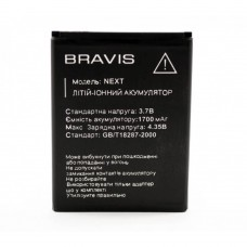 Аккумуляторная Батарея АКБ ААА Bravis Next 1700 mAh Li-Ion для Bravis Next
