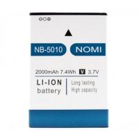 Аккумуляторная Батарея АКБ ААА NB-5010 2000 mAh Li-Ion для Nomi i5010