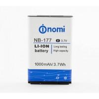 Аккумуляторная Батарея АКБ ААА NB-177 1000 mAh Li-Ion для Nomi i177