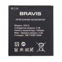 Аккумуляторная Батарея АКБ ААА Bravis Solo 1400 mAh Li-Ion для Bravis Solo