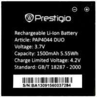 Аккумуляторная Батарея АКБ ААА PAP4044 1500 mAh Li-Ion для Prestigio MULTIPHONE 4044 DUO