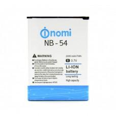 Аккумуляторная Батарея АКБ ААА NB-54 2000 mAh Li-Ion для Nomi i504