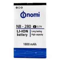 Аккумуляторная Батарея АКБ ААА NB-280 1800 mAh Li-Ion для Nomi i280