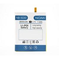 Аккумуляторная Батарея АКБ ААА NB-5030 2000 mAh Li-Ion для Nomi i5030 EVO X