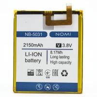 Аккумуляторная Батарея АКБ ААА NB-5031 2150 mAh Li-Ion для Nomi i5031 EVO X1