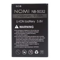 Аккумуляторная Батарея АКБ ААА NB-5032 2500 mAh Li-Ion для Nomi i5032 EVO X2