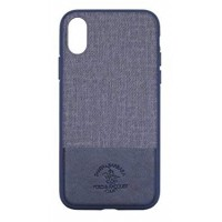 Чехол Santa Barbara Polo Racquet Club Virtuoso Blue для iPhone XS Max
