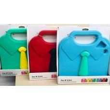 Чехол детский с ручкой 3D Necktie Kids Handle Case Red для iPad 2/3/4