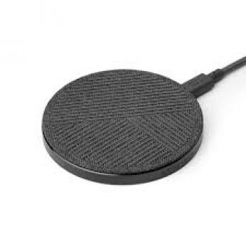 Беспроводное зарядное устройство Native Union Drop Wireless Charger Fabric Slate для зарядки Qi уcтройств/IPhone