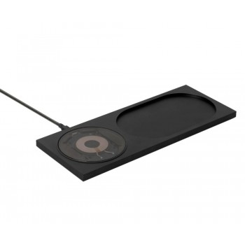 Беспроводное зарядное устройство Native Union Tom Dixon Stash Block Wireless Station Black для зарядки Qi уcтройств/IPhone
