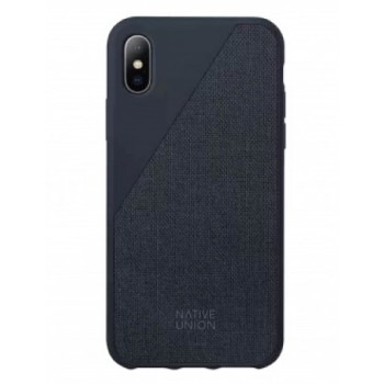 Чехол Native Union Clic Canvas Blue для iPhone XS Max