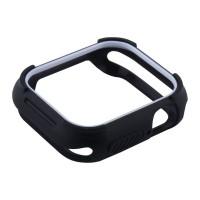 Чехол-бампер Coteetci Soft Case 40 мм Black для Apple Watch