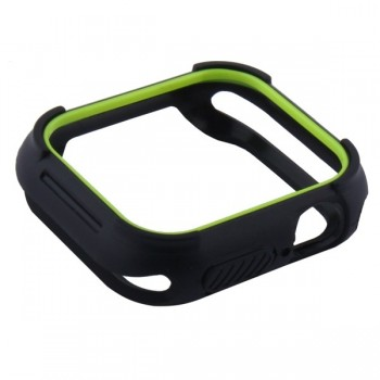 Чехол-бампер Coteetci Soft Case 40 мм Green для Apple Watch