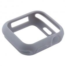 Чехол-бампер силиконовый Coteetci TPU Case 44 мм Серый для Apple Watch