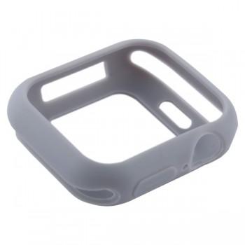 Чехол-бампер силиконовый Coteetci TPU Case 40 мм Серый для Apple Watch