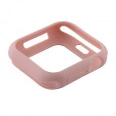 Чехол-бампер силиконовый Coteetci TPU Case 44 мм Розовый для Apple Watch