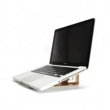 Подставка Coteetci Notebook Stand Holder Aluminium Gold для Apple MacBook/ноутбука/планшета