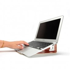 Подставка Coteetci Notebook Stand Holder Aluminium Rose Gold для Apple MacBook/ноутбука/планшета