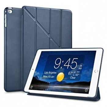 Чехол Y-Type PU Leather Silicone Case Dark Blue для iPad Air 2