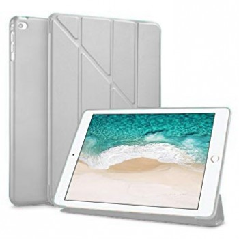 Чехол Y-Type PU Leather Silicone Case Gray для iPad Air
