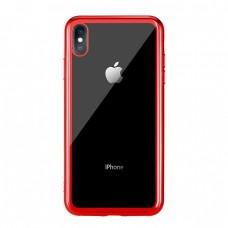 Чехол стеклянный WK Design Crysden Case Red для iPhone XR