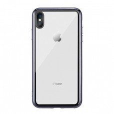 Чехол стеклянный WK Design Crysden Case Black для iPhone XR