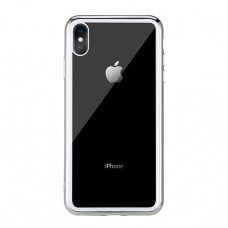 Чехол стеклянный WK Design Crysden Case Silver для iPhone XS Max
